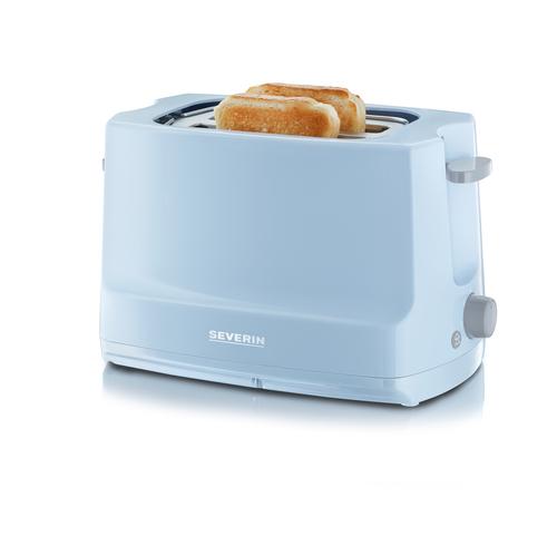 Severin AT 9723 Toaster (Grau, Blau)