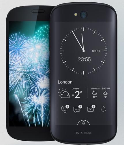 Yota YOTAPHONE 2 32GB 4G Schwarz (Schwarz)