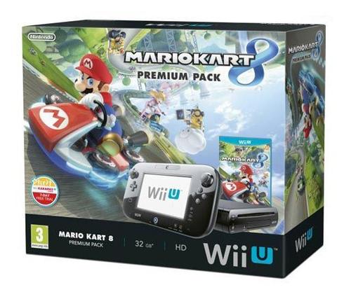 Nintendo Wii U Mario Kart 8 Download Premium Pack (Schwarz)