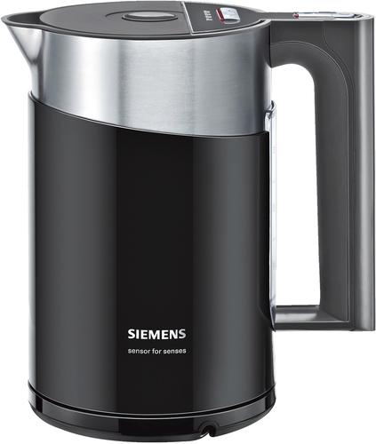 Siemens TW86103P Wasserkocher (Schwarz, Edelstahl)