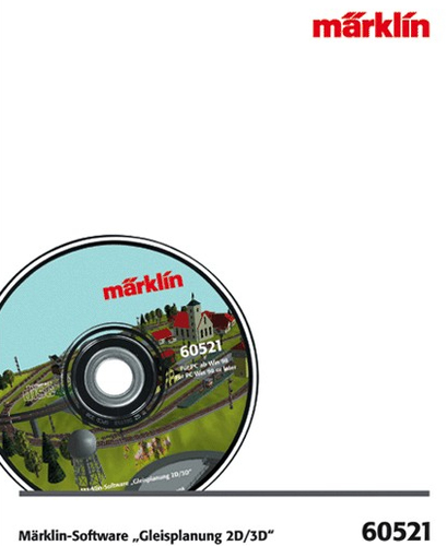 Märklin 60521 Graphik/Fotoverarbeitung Software