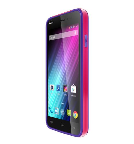 Wiko 93673 Handy-Schutzhülle (Violett)