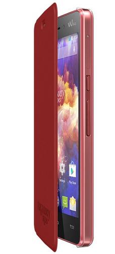 Wiko 93951 Handy-Schutzhülle (Coral)