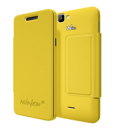 Wiko 94161 Handy-Schutzhülle (Gelb)