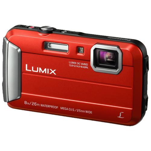 Panasonic Lumix DMC-FT30 (Rot)