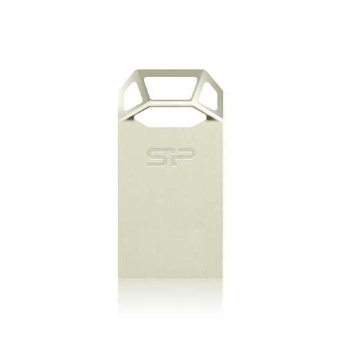 Silicon Power Touch T50 8GB 8GB USB 2.0 Champagner USB-Stick (Champagner, Gold)
