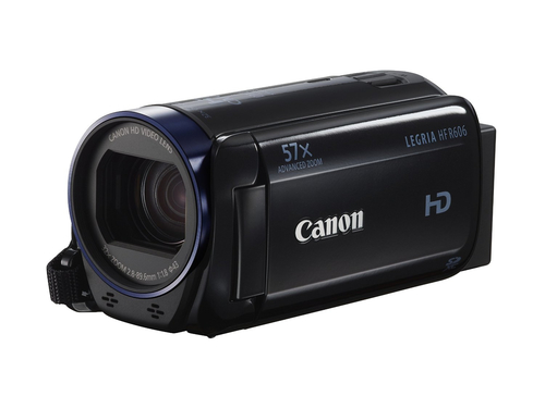 Canon LEGRIA HF R606 + Essentials Kit (Schwarz)