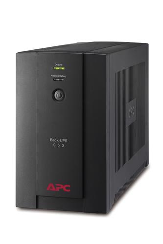 APC BX950U-GR Unterbrechungsfreie Stromversorgung UPS (Schwarz)