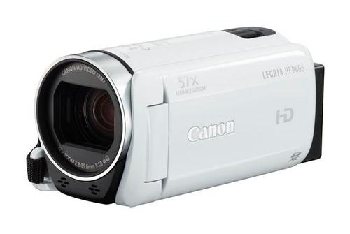 Canon LEGRIA HF R606 + Kit (Weiß)