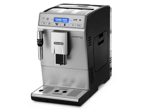DeLonghi Autentica Plus Drip coffee maker 1.4l Schwarz, Silber (Schwarz, Silber)