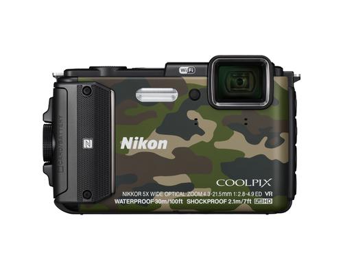 "Nikon COOLPIX AW130 16MP 1/2.3"" CMOS 4608 x 3456Pixel Camouflage (Camouflage)"