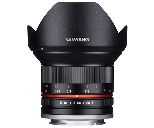 Samyang 12mm F2.0 NCS CS (Schwarz)