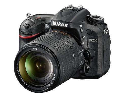 Nikon D7200 + AF-S DX NIKKOR 18-140mm (Schwarz)