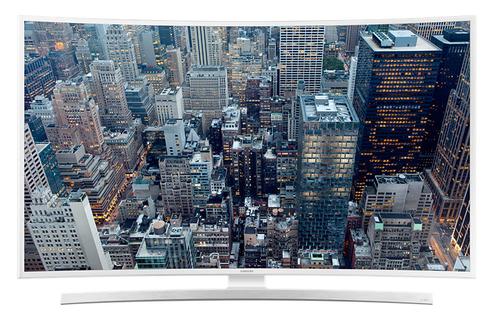 """Samsung UE48JU6580U 48"""" 4K Ultra HD Smart-TV WLAN Weiß (Weiß)"""