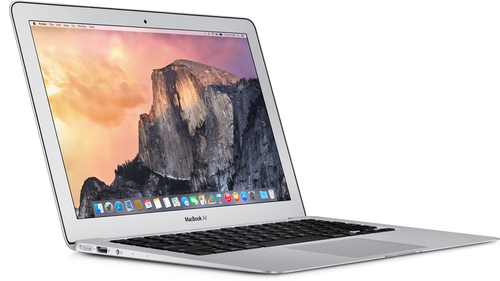 "Apple MacBook Air 11"" (Silber)"