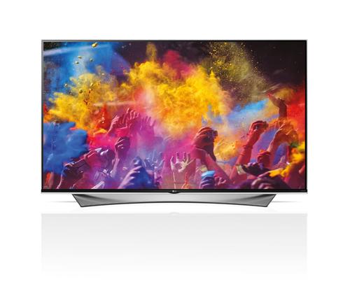 """LG 65UF950V 65"""" 4K Ultra HD 3D Kompatibilität Smart-TV WLAN Weiß LED TV (Weiß)"""
