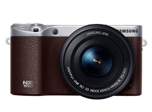 Samsung NX NX500 + OIS 16-50mm (Braun)