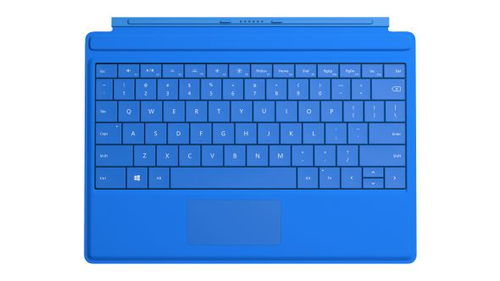 Microsoft Surface 3 Type Cover (Blau)
