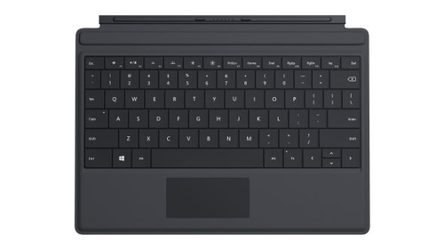 Microsoft Surface 3 Type Cover (Schwarz)