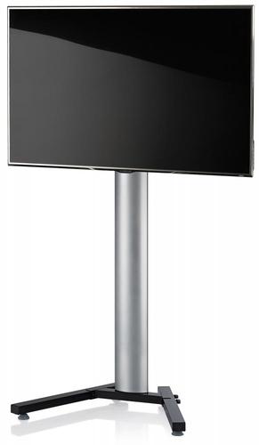 VCM Morgenthaler 17025 Flat panel Bodenhalter (Schwarz, Silber)