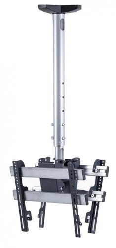 VCM Morgenthaler 17812 Flat Panel-Deckenhalter (Schwarz, Silber)