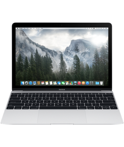 "Apple MacBook 12"" Retina (Silber)"
