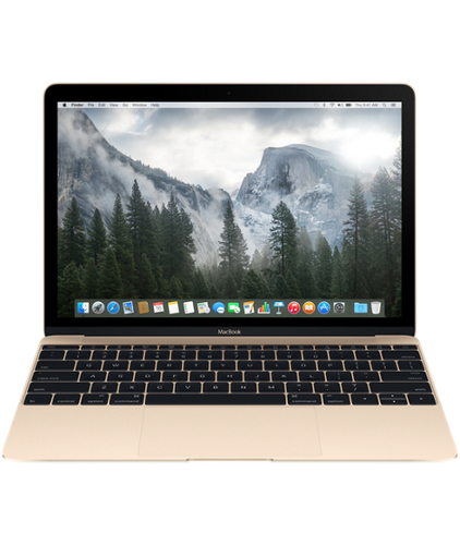 "Apple MacBook 12"" Retina (Gold)"
