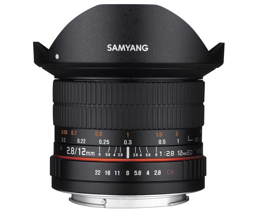 Samyang 12mm F2.8 ED AS NCS (Schwarz)