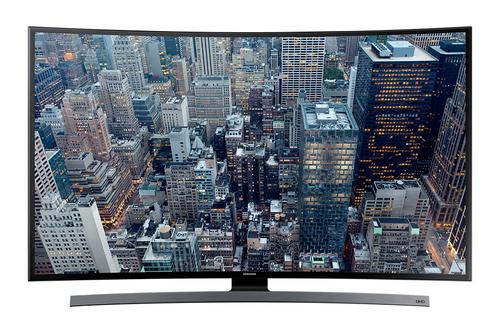 """Samsung UE55JU6640U 55"""" 4K Ultra HD 3D Kompatibilität Smart-TV WLAN Schwarz, Silber (Schwarz, Silber)"""