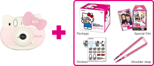 Fujifilm instax mini HELLO KITTY (Pink)