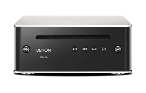 Denon DCD50SPE2 CD-Spieler u. -Recorder (Schwarz, Edelstahl)