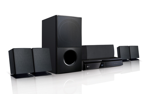 LG LHA725 Home-Kino System (Schwarz)