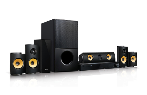 LG LHA825W Home-Kino System (Schwarz)