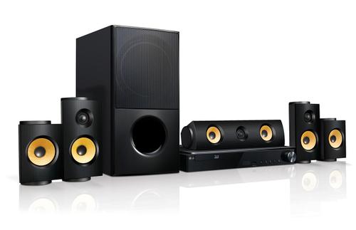 LG LHA825 Home-Kino System (Schwarz)