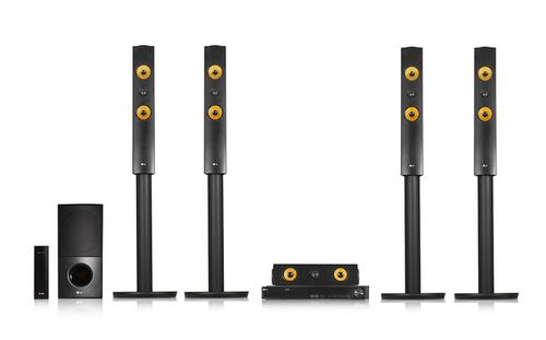 LG LHA855W Home-Kino System (Schwarz)