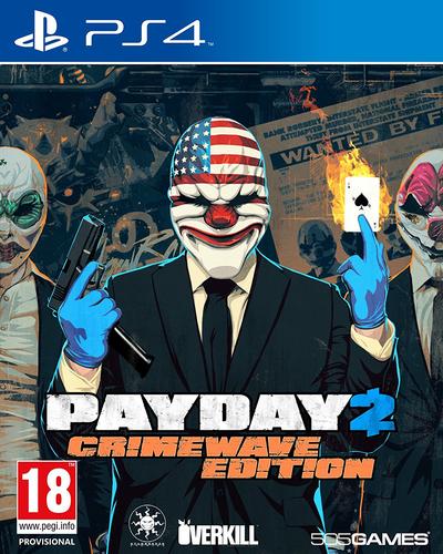 505 Games Payday 2: Crimewave Edition, PS4 Standard PlayStation 4 Englisch Videospiel