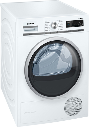 Siemens WT47W5W0 Wäschetrockner (Weiß)