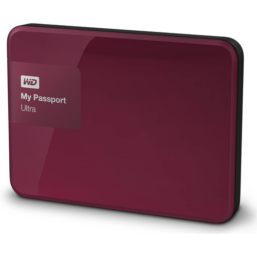 Western Digital My Passport Ultra 500GB (Rot)