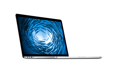 "Apple MacBook Pro Retina 15"" (Silber)"