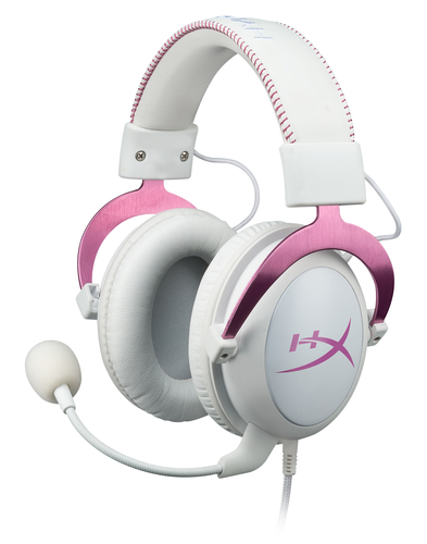 Kingston Technology HyperX Cloud II Gaming Headset - Pink (Pink, Weiß)