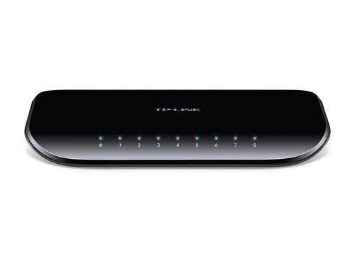 TP-LINK 8-Port-Gigabit-Desktop-Unmanaged-Switch (Schwarz)
