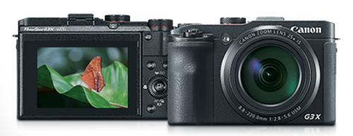 Canon PowerShot G3 X (Schwarz)