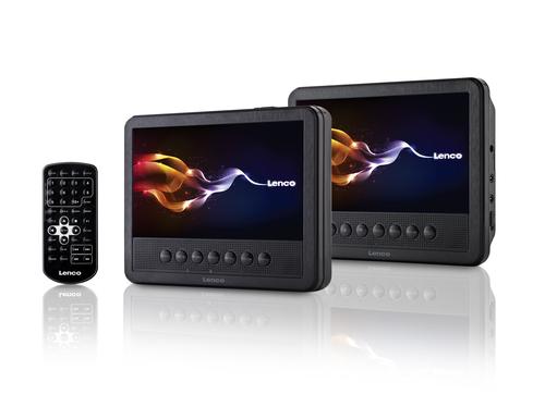 Lenco MES-212 portabler DVD/Blu-Ray-Player (Schwarz)