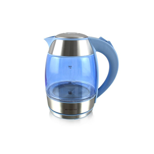 Emerio WK-108082.6 Wasserkocher (Blau, Silber)