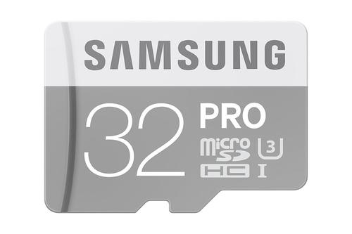 Samsung 32GB microSDHC (Grau, Weiß)