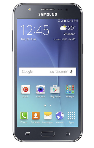 Samsung Galaxy J5 8GB 4G Schwarz (Schwarz)