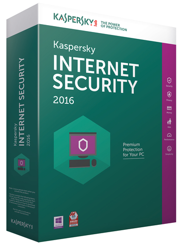 Kaspersky Lab Internet Security 2016 + Andorid Security