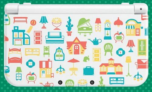 Nintendo New 3DS XL Animal Crossing: Happy Home Designer Edition (Multi, Weiß)