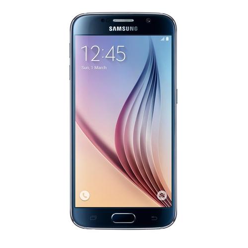 Samsung Galaxy S6 SM-G920F 128GB 4G Schwarz (Schwarz)