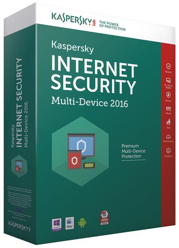 Kaspersky Lab Internet Security Multi-Device 2016